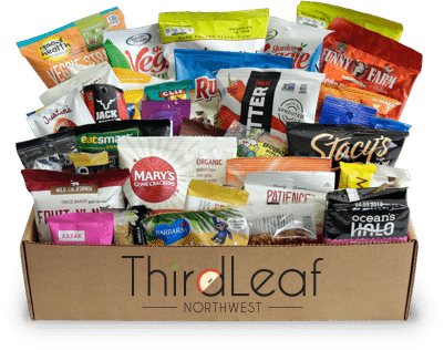 Thirdleaf Snacks wellness box